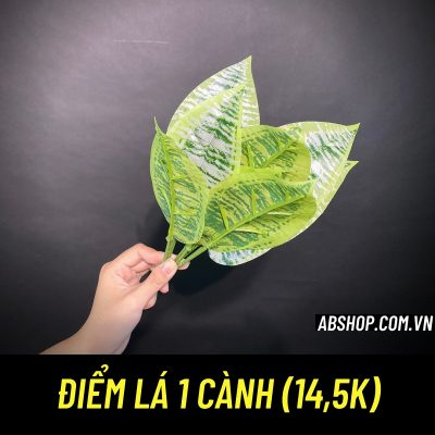 diem-la-1-canh-trang-tri-cam-hoa